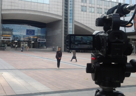 Shooting at the European Parliament